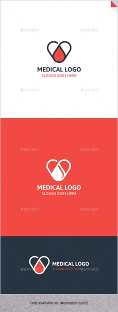 Medical Logo Template PSD, Vector EPS, AI. Download here: http://graphicriver.net/item/medical-logo/12762028?ref=ksioks