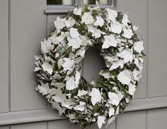Witte winterkrans - KnackWeekend.be