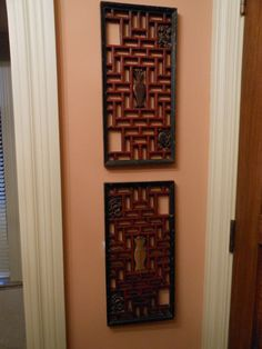 Antique Chinese screens make for great wall art!