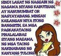 Tama! Pinoy Quotes, Hugot, Tagalog, Quotable Quotes, Reflection, Memes, Meme