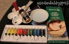 About acrylic colors / Akryyliväreistä
