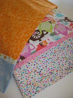 Anna Can Cook!: 10 minute pillowcase tutorial.