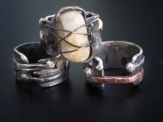 Richard Salley -  Rings, pendants and bracelets will emerge from your scrap silver to amaze you when you take a class with RS.