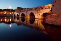 Rimini, Ponte Tiberio (RN) - #storia #cultura #rimini #italy Rimini Italy, Bella, Places Ive Been, Places To Visit, To Go, Italia, Places Worth Visiting
