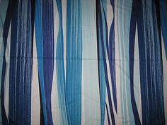 Marimekko Matkalla Maalle Fabric Blue Three Yards x 56 Free Shipping | eBay
