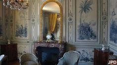 Paris-bise-art : Château de Champs-sur-Marne (4) - Le rez-de-chaussée (suite)