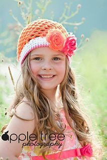Crochet Pattern for Ainsley Hat - 8 sizes, newborn to large adult - Welcome to sell finished items Crochet Gifts, Cute Crochet, Crochet For Kids, Beautiful Crochet, Crochet Baby, Knit Crochet, Crocheted Hats, Crochet Things, Crochet Puff Flower