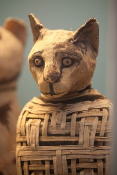 AT THE BRITISH MUSEUM Look at web site for interesting information on cat mummies.