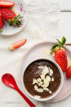 domowy budyń czekoladowy Chocolate Fondue, Sweets, Recipes, Food, Fotografia, Gummi Candy, Candy, Essen, Eten