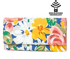 Mundi File Master Bifold Womens RFID Blocking Wallet Clutch Checkbook Holder Organizer With Change Pocket (Warm Sun Floral)  BUY NOW     $40.00     NEW MUNDI FILE MASTER WOMENS RFID BLOCKING:  This wallet clutch is the ideal wallet to keep you organized and looking stylish ..  http://www.welovefashion.top/2017/03/12/mundi-file-master-bifold-womens-rfid-blocking-wallet-clutch-checkbook-holder-organizer-with-change-pocket-warm-sun-floral/