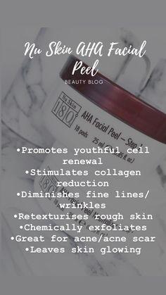 Beauty Box, Beauty Skin, Beauty Secrets, Wrinkled Skin, Chemical Peel, Acne Scars, Clear Skin, Nu Skin