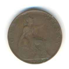 Edward VII Penny 1907 Vintage Coin Code: by JMCVintagecards Uk Shop, View Image, Mall, Coins, Money, Etsy, Vintage, Rooms, Silver