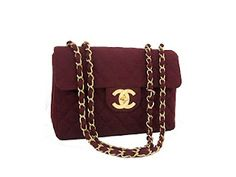 Chanel in Quilted Bordeaux