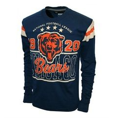 Women's Chicago Bears Touch by Alyssa Milano Navy On The Fifty Super Bowl XX Champions Glitter T-Shirt