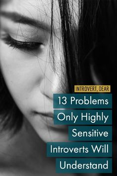 If you're a highly sensitive introvert, little things that don't bother other people have the power to completely overwhelm you. Introvert Personality, Introvert Quotes, Introvert Problems, Extroverted Introvert, Sensitive Quotes, Being Sensitive, Highly Sensitive Person Traits, What Is An Empath, Anxiety Remedies