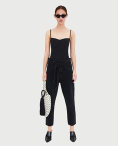 Image 1 of PAPERBAG JEANS from Zara
