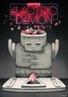 Mister Electric Demon by Antony Squizzato