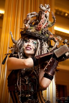 #Steampunk Tendencies | DefenzMechanizm at Dragoncon 2011 #Fashion
