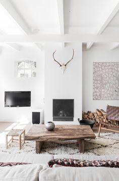 cosy whites and creams #livingroom