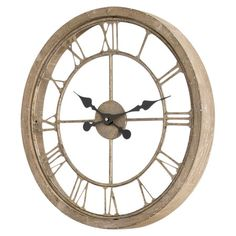 Time flies when you're decorating; keep track of the hour with this charming openwork wall clock, perfect for your office or kitchen.  ...