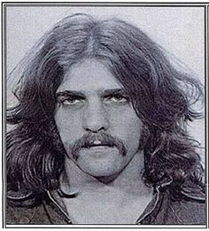 Glen Fry's mug shot from 1973 arrest in Ohio for drug possession and public intoxication./Love the mustache very sexy, love the bad boys...RIP glen