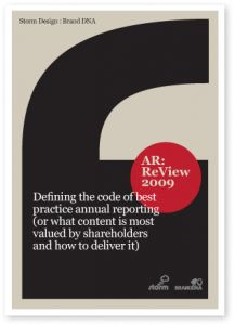 5 Fundamentals of Great Annual Report Design. Cassandra Gill, Design Director.
