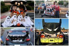 Ouvrir sa voiture plutôt que sa maison pour #Halloween #original