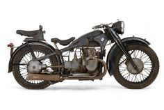 There's always going to be a part of me that wants a motorcycle...and how freakin' sweet is this vintage BMW bike??? Damn!