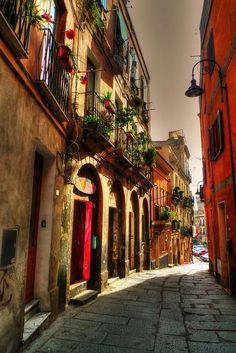 Cagliari, via portoscalas, Italy