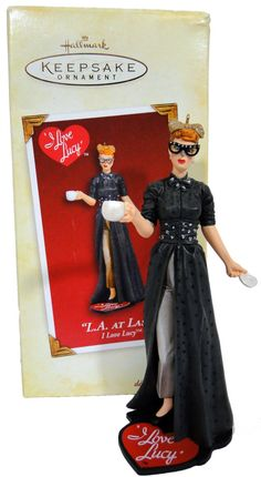 """2005 Hallmark I Love Lucy """"L.A. At Last"""" Ornament I Love Lucy Episodes, Christmas Items, Christmas Ornaments, William Frawley, Lucy And Ricky, Brown Derby, Desi Arnaz, At Last, Hallmark Keepsake Ornaments"""