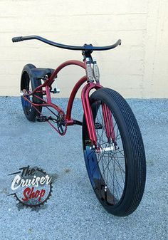 More of Dominick's work--we love collaborating with him. Beach Cruiser Bikes, Cruiser Bicycle, Rat Bikes, Lowrider Bike, Chopper Bike, Cool Bicycles, Bicycle Design, Motorcycle Bike, Kustom