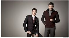 Alex Lundqvist + Mathias Bergh Step Out in Autumnal Hues for K Boxing Fall 2014 image K Boxing Fall Winter 2014 Collection 001 800x449