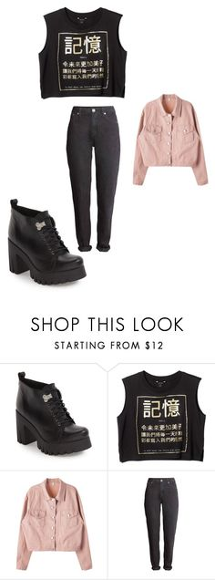 """""""Sin título #439"""" by thewhitebruja on Polyvore featuring moda, Shellys y Monki"""