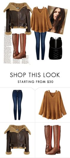 """""""Be Sure To Cover Well For Winter"""" by juliacornelia ❤ liked on Polyvore featuring Dolce&Gabbana, 2LUV, WithChic, Balenciaga, Ariat and Puma"""