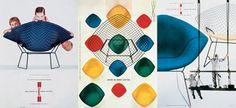 Harry Bertoia Diamond Chair #designicon #midcenturydesign #bertoia #diamondchair