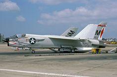 A USN Vought F-8 Crusader.