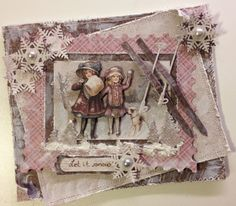 annes papercreations: Maja design card - Kreativ Scrapping DT projet