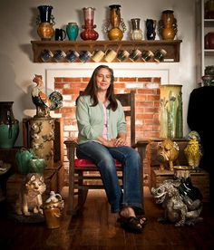 Potters:  Maggie Jones - Turtle Island Pottery
