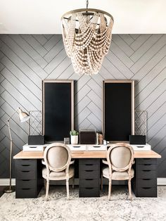 15 Decor Pictures That Show You Can Never Go Wrong With More Black.  Black is all about attitude, being bold, taking risks, and not caring about what people think (as long as you make it look cool).  Black decor ideas to give your house that dark goth vibe this fall and Halloween season.