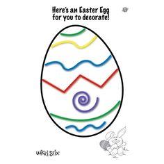 Easter Wikki Stix printables