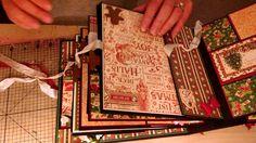 Graphic 45 St Nicholas mini album