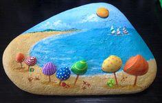 .piedras pintadas