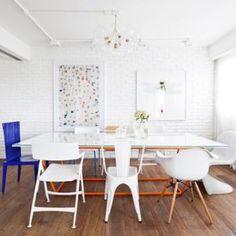 Decoração de sala de jantar - Flavia Gerab Tayar
