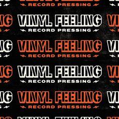 PsyTek Design » Vinyl Feeling Record Pressing Stencil Font, Brand Assets, How To Make Stencils, Corporate Identity, Screen Printing, Feelings, Design, Screen Printing Press, Silk Screen Printing