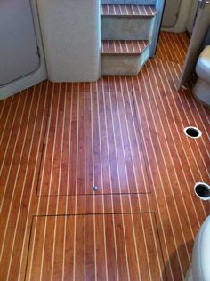 CFLOR Nautical Flooring Pictures | Synthetic Marine Teak Deck