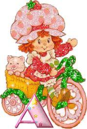 Oh my Alfabetos!: Alfabeto animado Strawberry Shortcake brillante.