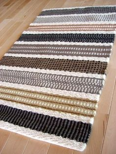Floor Mats, Weave, Flooring, Rugs, Knitting, Color, Ideas, Design, Home Decor