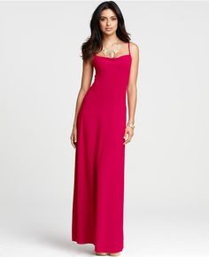 Thumbnail Image of Primary Image of Petite Spaghetti Strap Maxi Dress