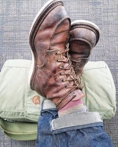 Red Wing Heritage Boots, Red Wing Boots, Fashion Boots, Mens Fashion, Sports Uniforms, Wedge Boots, Timberland Boots, Hiking Boots, Combat Boots