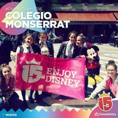 Vamos a #Disney?? #ColegioMonserrat  #promoteam2016 #enjoy15 #transatlantica #avanta